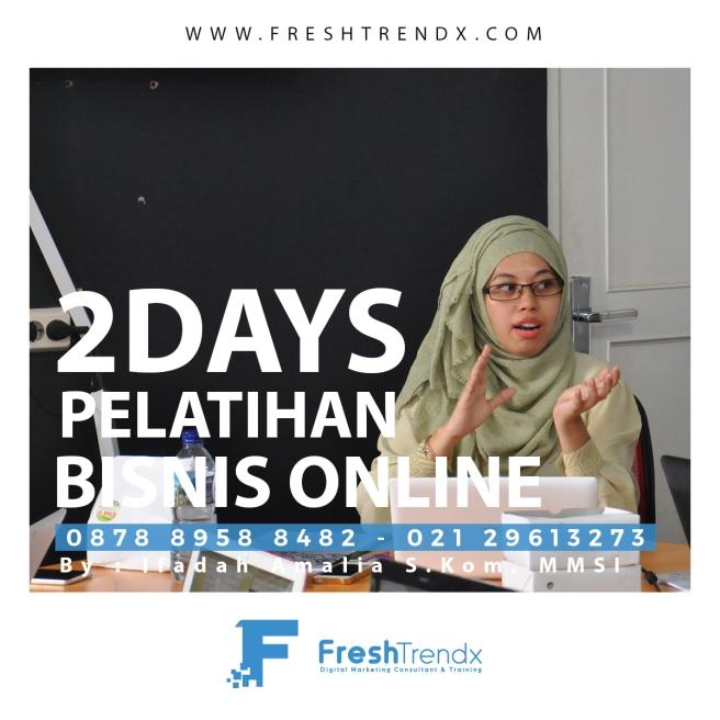 Kursus Bisnis Online di Jakarta Barat Bersama Ifadah Amalia S.Kom, MMSI