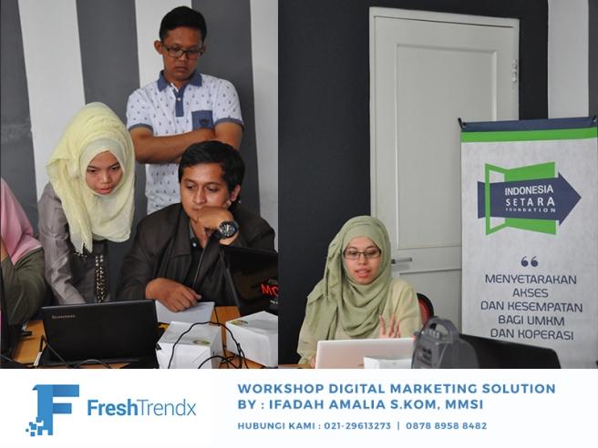 Kursus Bisnis Online di Jakarta Timur Bersama Ifadah Amalia S.Kom, MMSI