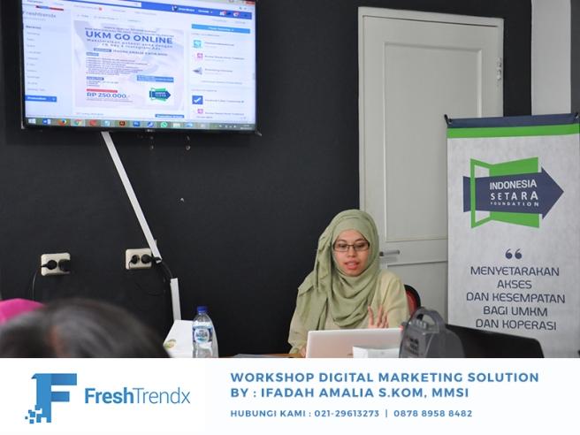 Kursus Digital Marketing di Jakarta Bersama Ifadah Amalia S.Kom, MMSI