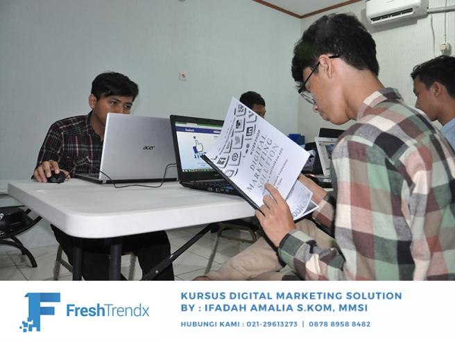 Kursus Digital Marketing di Jakarta Timur Bersama Ifadah Amalia S.Kom, MMSI