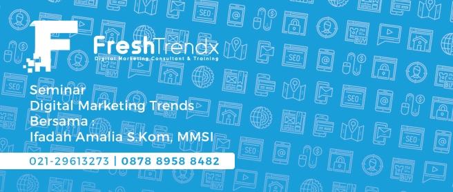 Kursus Internet Marketing di Jakarta Pusat Bersama Ifadah Amalia S.Kom, MMSI
