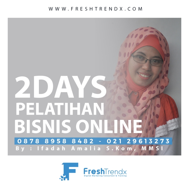 Kursus Search Engine Marketing di Bekasi Barat Bersama Ifadah Amalia S.Kom, MMSI