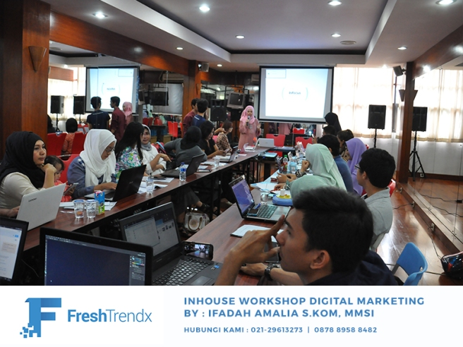 Kursus Search Engine Marketing di Bekasi Utara Bersama Ifadah Amalia S.Kom, MMSI