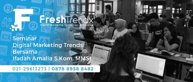 Kursus SEM di Bekasi Bersama Ifadah Amalia S.Kom, MMSI