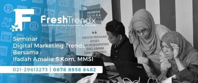 Kursus SEM di Bekasi Timur Bersama Ifadah Amalia S.Kom, MMSI