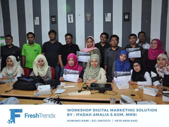 Kursus SEO di Jakarta Pusat Bersama Ifadah Amalia S.Kom, MMSI