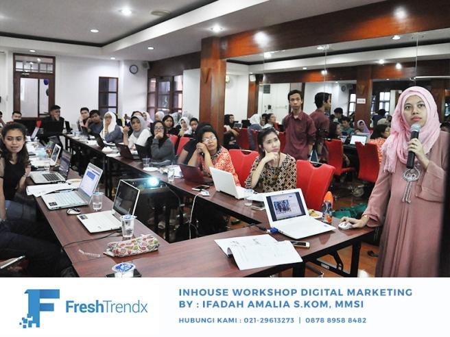 Kursus SEO di Jakarta Selatan Bersama Ifadah Amalia S.Kom, MMSI