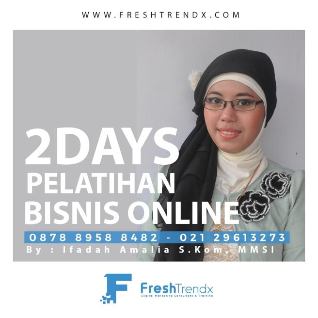 Private Bisnis Online di Jakarta Selatan Bersama Ifadah Amalia S.Kom, MMSI