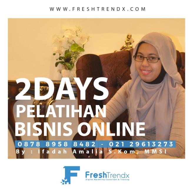 Private Bisnis Online di Jakarta Timur Bersama Ifadah Amalia S.Kom, MMSI