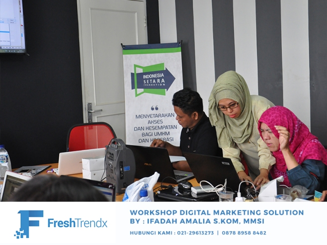 Private Bisnis Online di Jakarta Utara Bersama Ifadah Amalia S.Kom, MMSI
