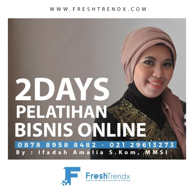 Workshop Bisnis Online di Jakarta Barat Bersama Ifadah Amalia S.Kom, MMSI