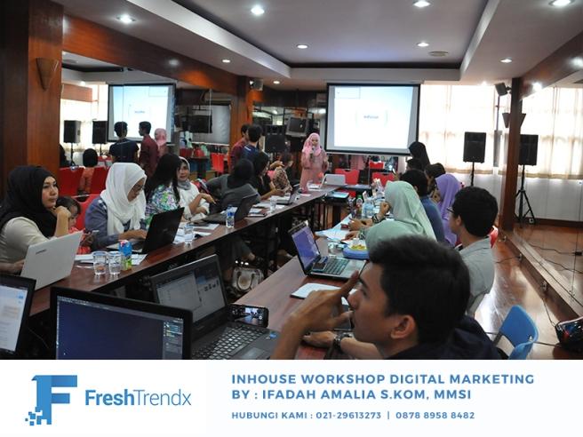 Workshop Bisnis Online di Jakarta Bersama Ifadah Amalia S.Kom, MMSI