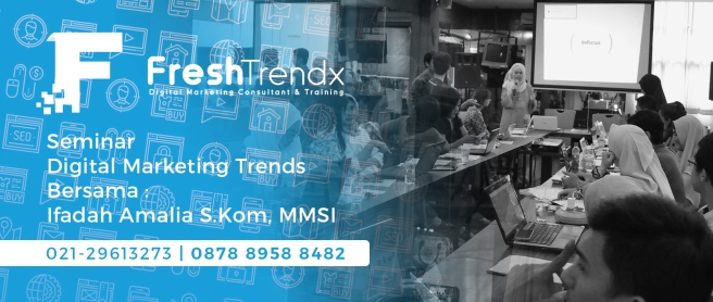 Workshop Bisnis Online di Jakarta Pusat Bersama Ifadah Amalia S.Kom, MMSI