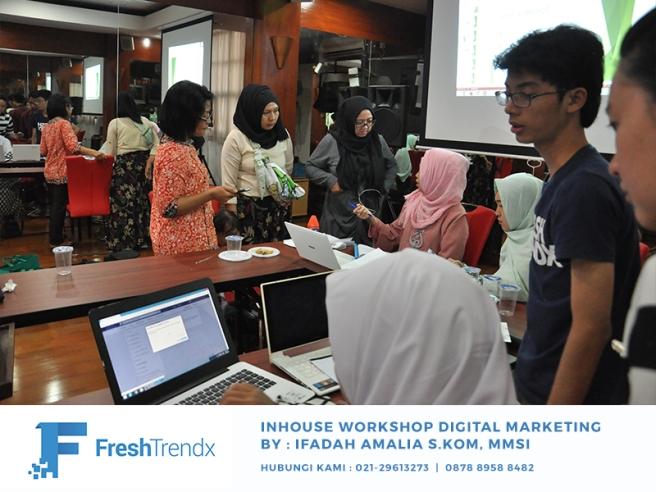 Workshop Bisnis Online di Jakarta Selatan Bersama Ifadah Amalia S.Kom, MMSI