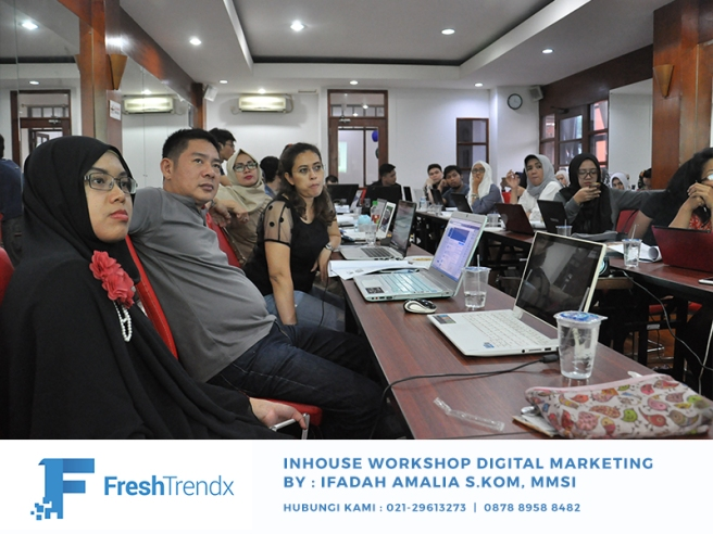 Workshop Bisnis Online di Jakarta Utara Bersama Ifadah Amalia S.Kom, MMSI