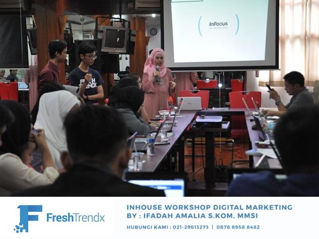 Workshop Digital Marketing di Jakarta Barat Bersama Ifadah Amalia S.Kom, MMSI