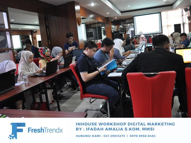 Workshop Digital Marketing di Jakarta Bersama Ifadah Amalia S.Kom, MMSI