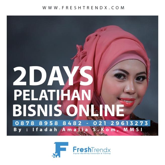 Workshop Digital Marketing di Jakarta Selatan Bersama Ifadah Amalia S.Kom, MMSI