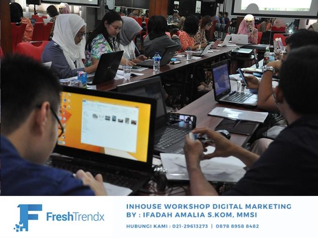 Workshop Digital Marketing di Jakarta Timur Bersama Ifadah Amalia S.Kom, MMSI