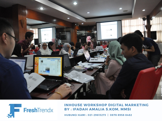 Workshop Digital Marketing di Jakarta Utara Bersama Ifadah Amalia S.Kom, MMSI