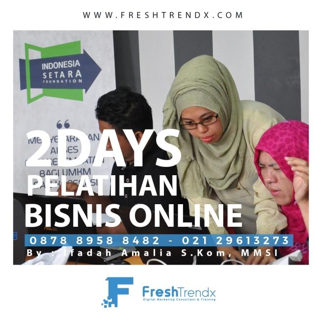 Workshop Internet Marketing di Jakarta Selatan Bersama Ifadah Amalia S.Kom, MMSI