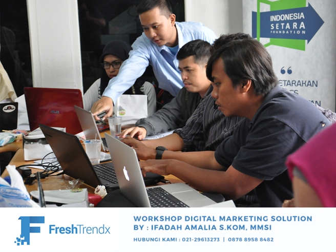 Workshop Internet Marketing di Jakarta Utara Bersama Ifadah Amalia S.Kom, MMSI