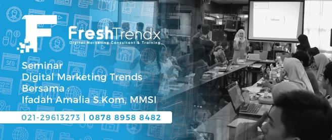 Workshop Search Engine Marketing di Bekasi Barat Bersama Ifadah Amalia S.Kom, MMSI