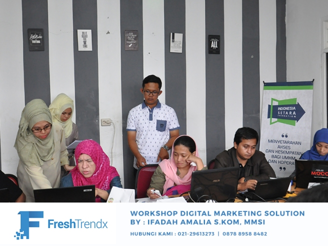 Workshop Search Engine Marketing di Bekasi Bersama Ifadah Amalia S.Kom, MMSI