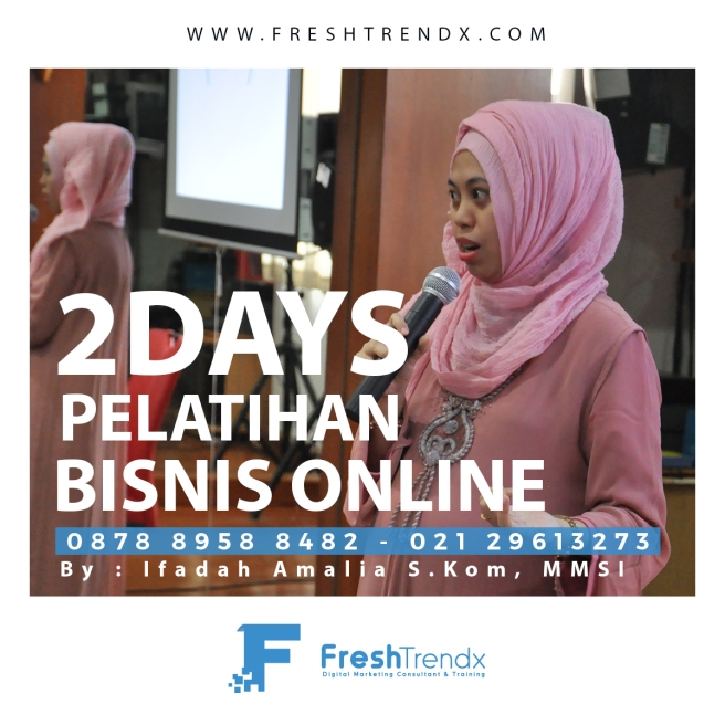 Workshop Search Engine Marketing di Bekasi Bersama Ifadah Amalia S.Kom, MMSI