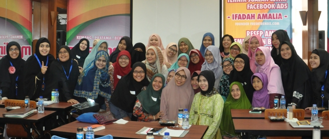 Workshop Search Engine Marketing di Bekasi Selatan Bersama Ifadah Amalia S.Kom, MMSI