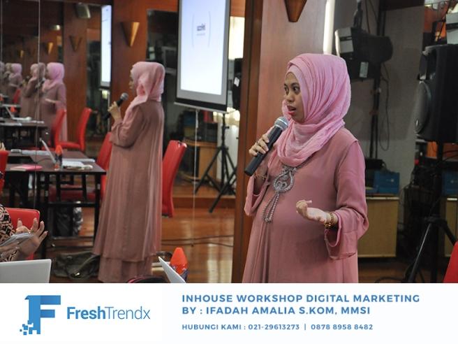 Workshop Search Engine Marketing di Bekasi Utara Bersama Ifadah Amalia S.Kom, MMSI