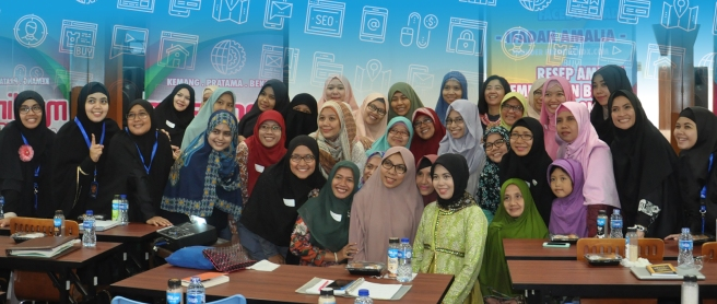 Workshop Search Engine Optimization di Bekasi Barat Bersama Ifadah Amalia S.Kom, MMSI