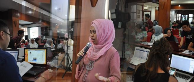 Workshop Search Engine Optimization di Bekasi Bersama Ifadah Amalia S.Kom, MMSI