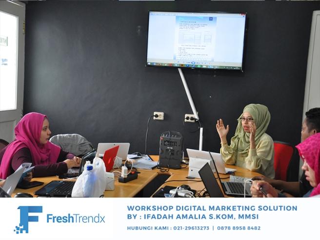 Workshop Search Engine Optimization di Jakarta Selatan Bersama Ifadah Amalia S.Kom, MMSI