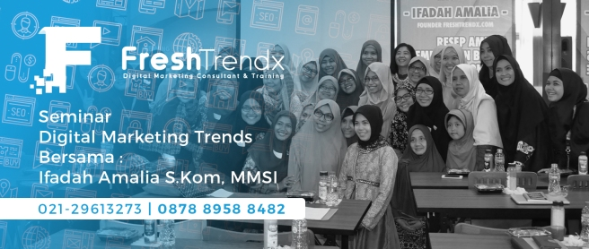 Workshop SEM di Bekasi Barat Bersama Ifadah Amalia S.Kom, MMSI