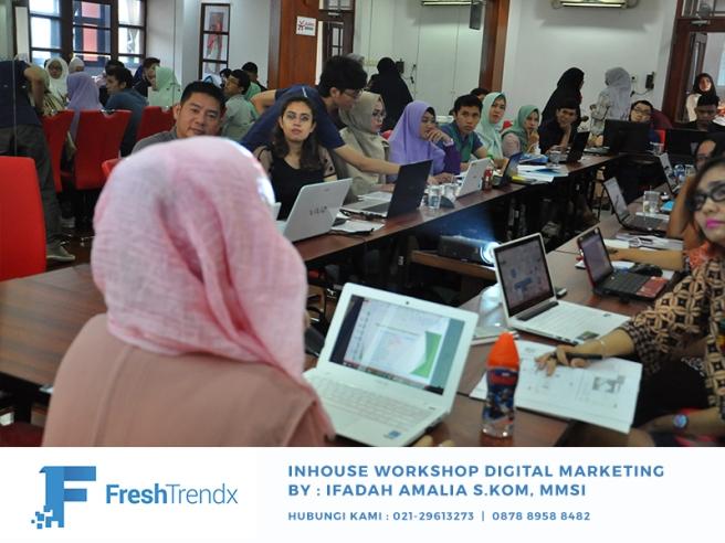Workshop SEM di Bekasi Bersama Ifadah Amalia S.Kom, MMSI