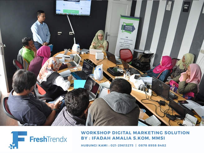 Workshop SEM di Bekasi Utara Bersama Ifadah Amalia S.Kom, MMSI