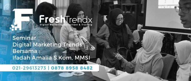 Workshop SEM di Jakarta Bersama Ifadah Amalia S.Kom, MMSI