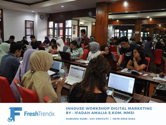 Workshop SEM di Jakarta Pusat Bersama Ifadah Amalia S.Kom, MMSI