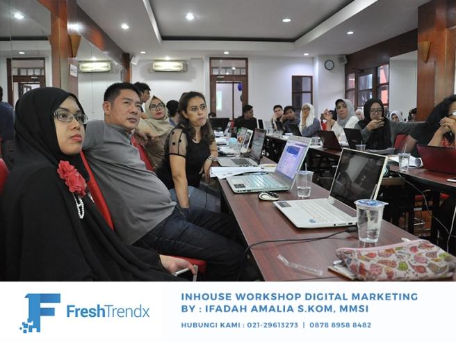Workshop SEM di Jakarta Utara Bersama Ifadah Amalia S.Kom, MMSI