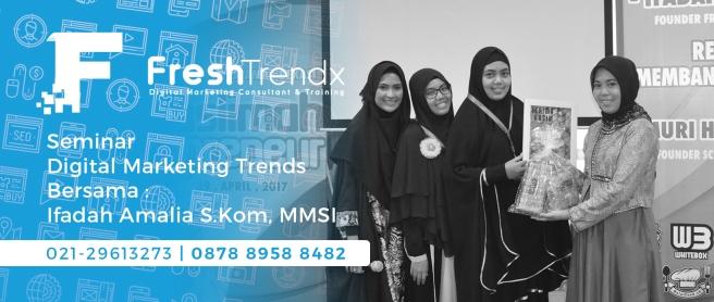 Workshop SEO di Jakarta Bersama Ifadah Amalia S.Kom, MMSI
