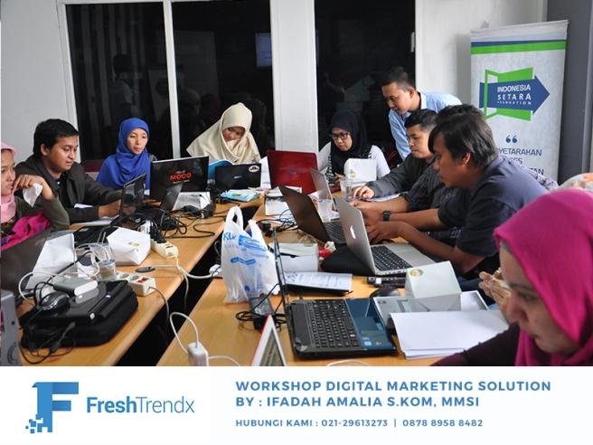 Workshop SEO di Jakarta Pusat Bersama Ifadah Amalia S.Kom, MMSI