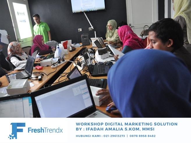 Workshop SEO di Jakarta Timur Bersama Ifadah Amalia S.Kom, MMSI