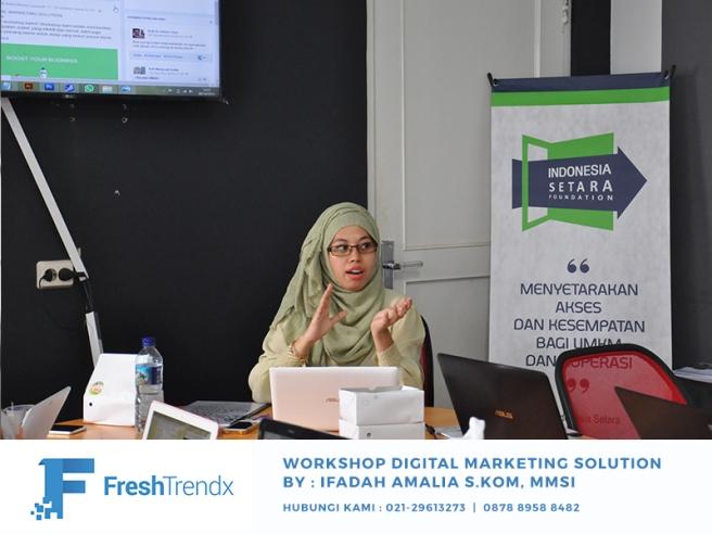 Workshop SEO di Jakarta Utara Bersama Ifadah Amalia S.Kom, MMSI