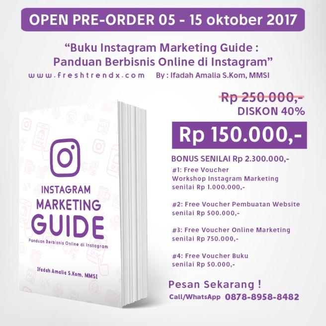 Buku Cara Jago Jualan di Instagram